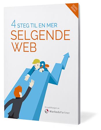 4 steg til en mer selgende web