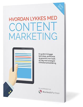 Gratis e-bok: Hvordan lykkes med content marketing
