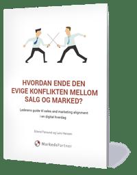 Hvordan ende den evige konflikten mellom salg og marked Forside.png