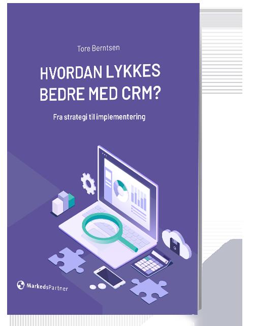 Hvordan lykkes bedre med CRM Forside