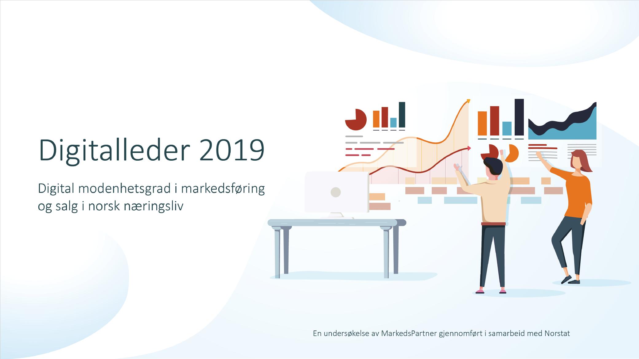 Digitalleder 2019 MarkedsPartner og Norstat