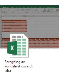 Excel-mal Beregning av kundelivstidsverdi.png
